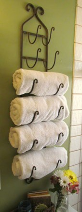 Simple and easy diy storage ideas for amazing bathroom 34