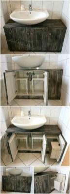 Simple and easy diy storage ideas for amazing bathroom 35