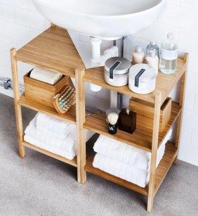 Simple and easy diy storage ideas for amazing bathroom 40