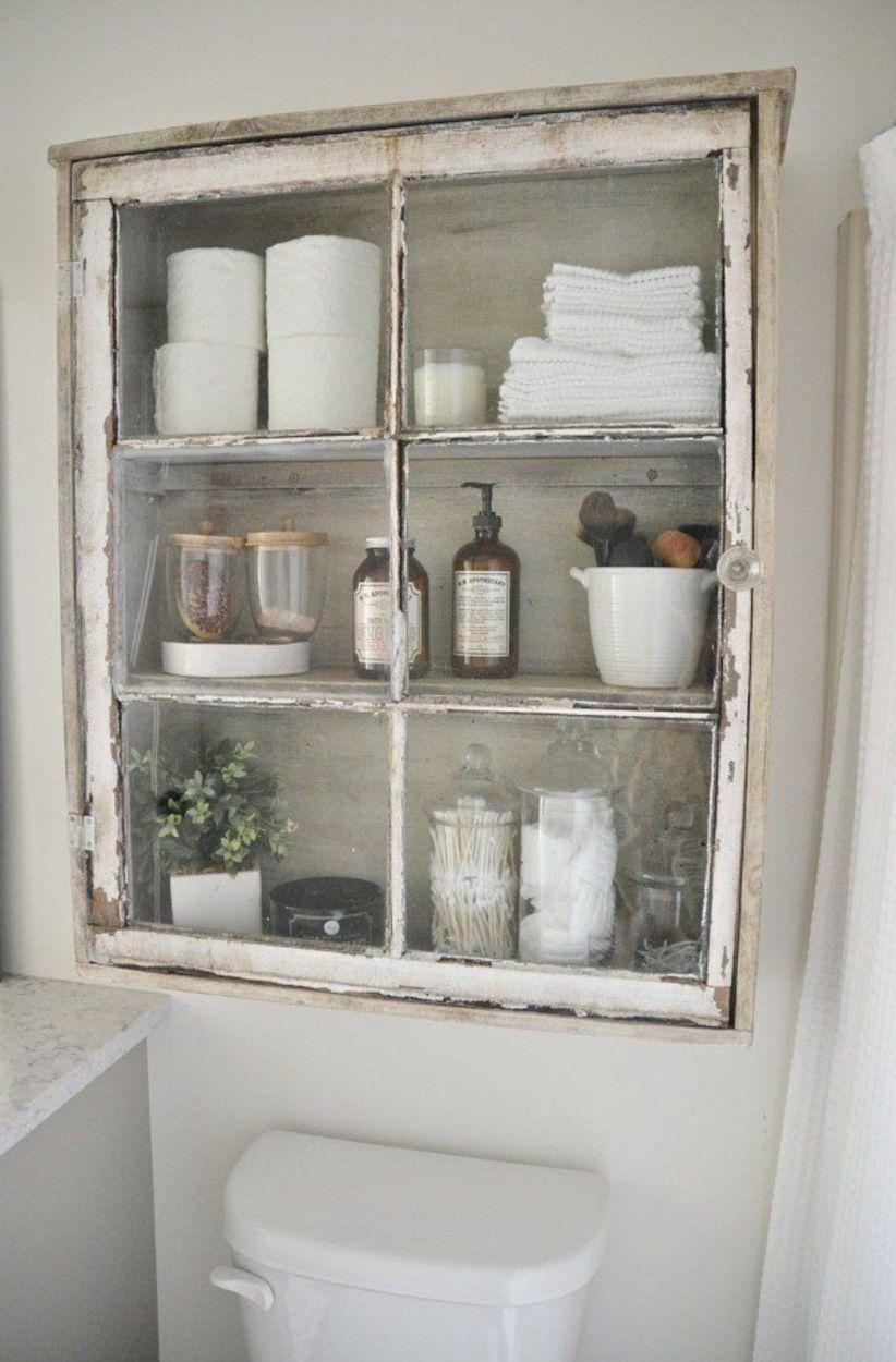 Simple and easy diy storage ideas for amazing bathroom 42