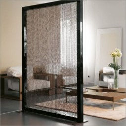 Simple but useful room divider 23