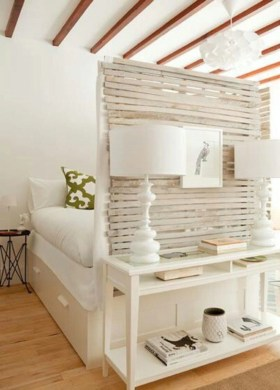 Simple but useful room divider 24