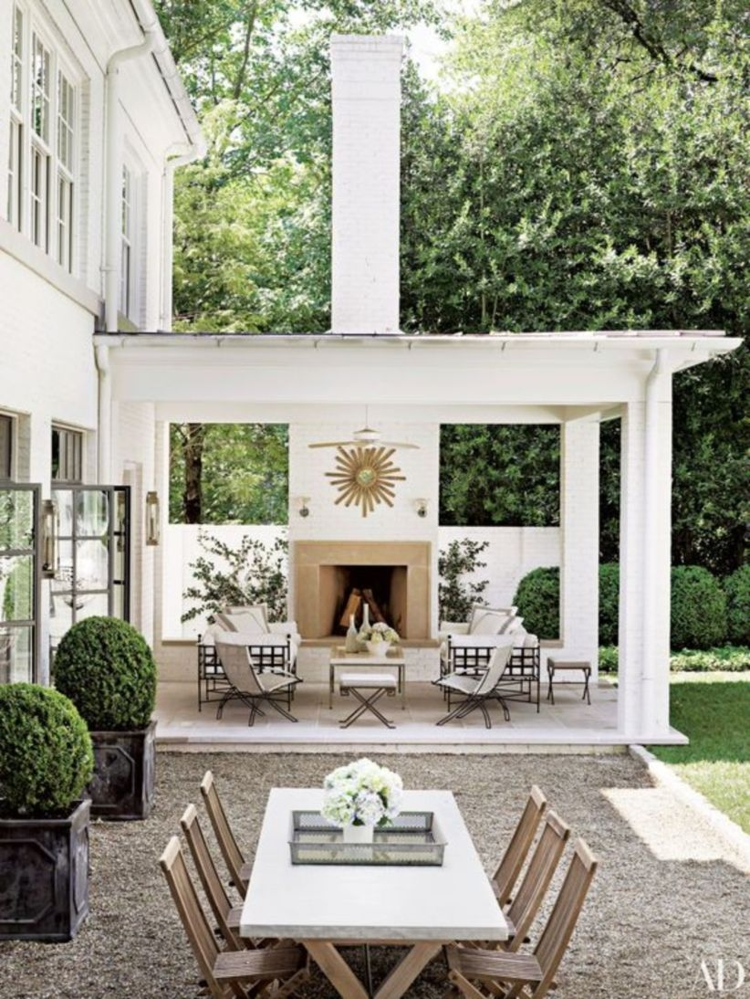 Summer-ready outdoor patio dining areas