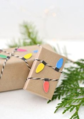 Unique gift wrap ideas for christmas 15
