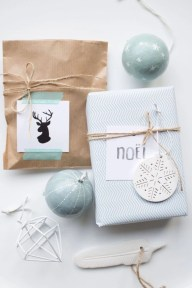 Unique gift wrap ideas for christmas 18