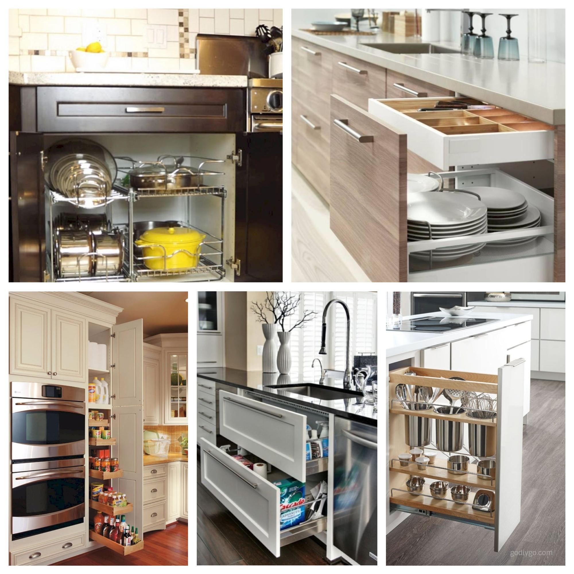 44 smart kitchen cabinet organization ideas godiygo com rh godiygo com kitchen cupboard organizing ideas kitchen cabinet organizers ideas