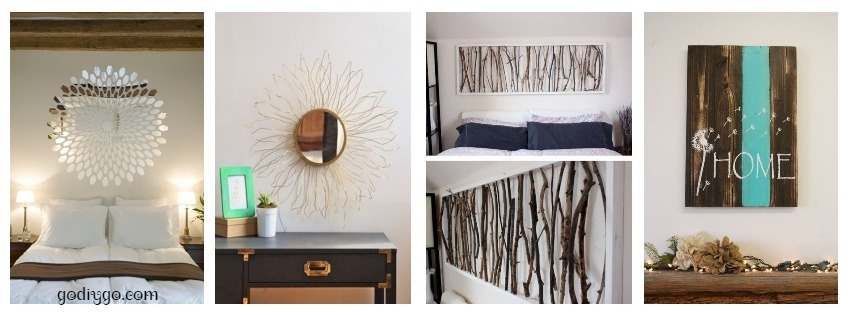 45 simple diy wall art ideas for your home godiygo com