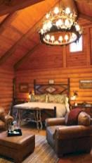 Creative log cabin themed bedroom for kids 06