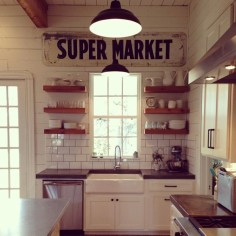 Diy ideas to add rustic farmhouse feel to your kitchen 06