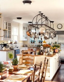 Diy ideas to add rustic farmhouse feel to your kitchen 16