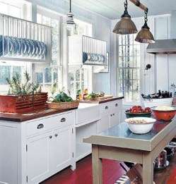 Diy ideas to add rustic farmhouse feel to your kitchen 29