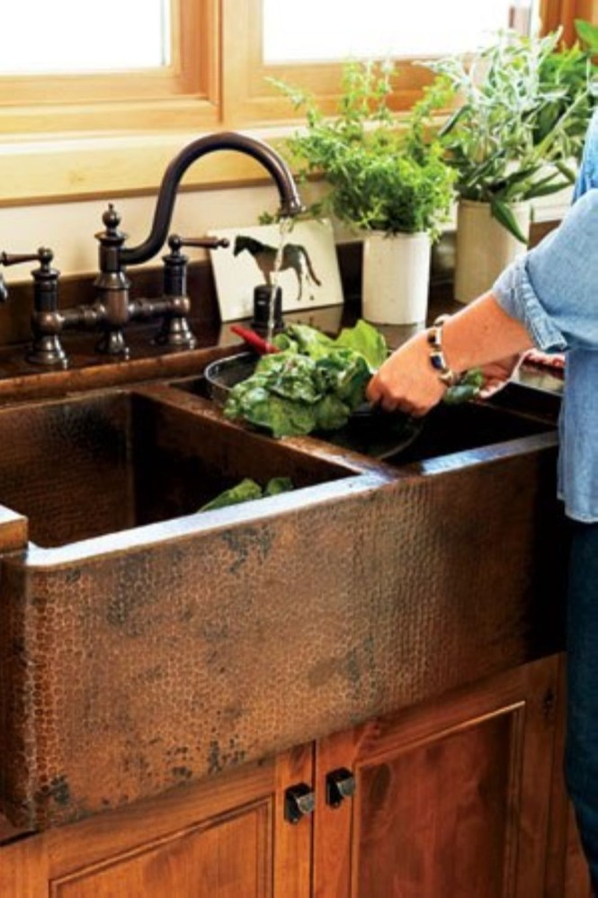 Diy ideas to add rustic farmhouse feel to your kitchen 31