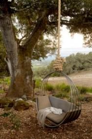 Diy outdoor swing ideas for your garden 05