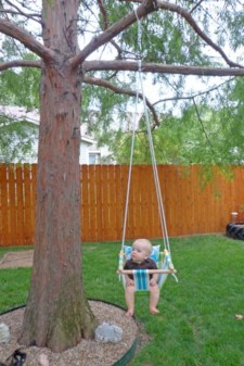 Diy outdoor swing ideas for your garden 10