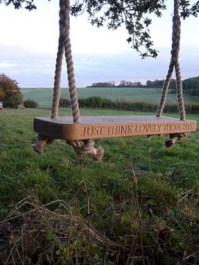 Diy outdoor swing ideas for your garden 16