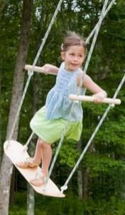 Diy outdoor swing ideas for your garden 39