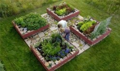 Easy to make diy raised garden beds ideas 03