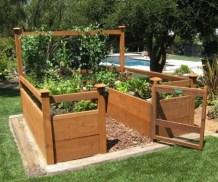 Easy to make diy raised garden beds ideas 31