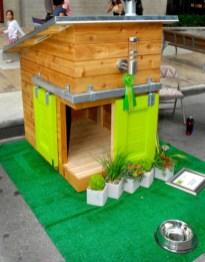 Fabulous backyard playhouse to delight your kids 02