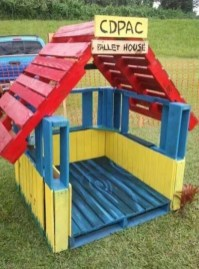 Fabulous backyard playhouse to delight your kids 05