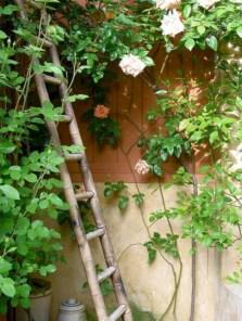Gorgeous diy ladder-style herb garden 05