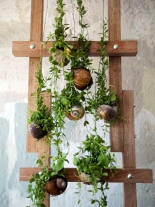 Gorgeous diy ladder-style herb garden 17