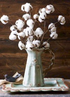 Incredible cotton decor farmhouse that you will love it 38