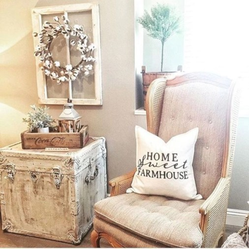 Incredible cotton decor farmhouse that you will love it 44