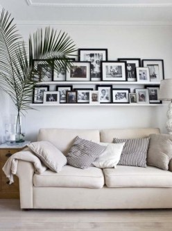 Simple diy wall art ideas for your home 13