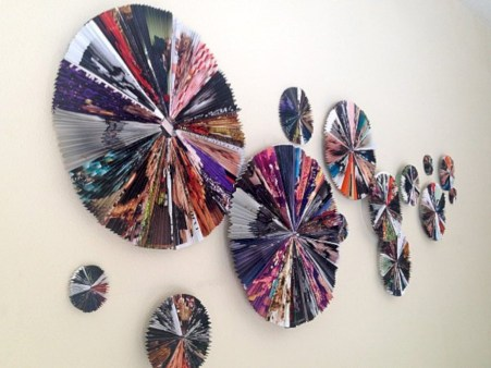 Simple diy wall art ideas for your home 36