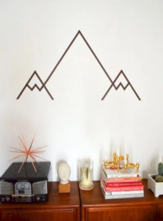 Simple diy wall art ideas for your home 39
