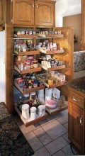 Smart kitchen cabinet organization ideas 08