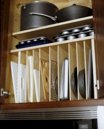 Smart kitchen cabinet organization ideas 09