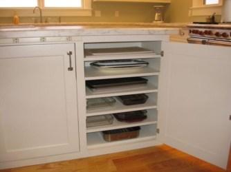 Smart kitchen cabinet organization ideas 12