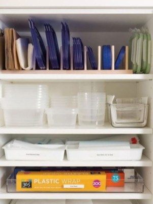Smart kitchen cabinet organization ideas 16