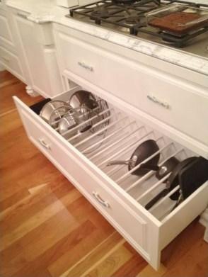 Smart kitchen cabinet organization ideas 25