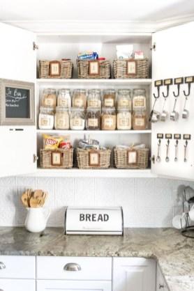 Smart kitchen cabinet organization ideas 35
