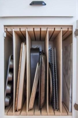 Smart kitchen cabinet organization ideas 36