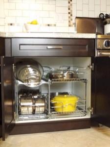 Smart kitchen cabinet organization ideas 37