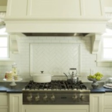Adorable marble herringbone backsplash detail 23