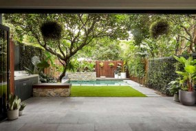 Beautiful courtyard garden design ideas 05