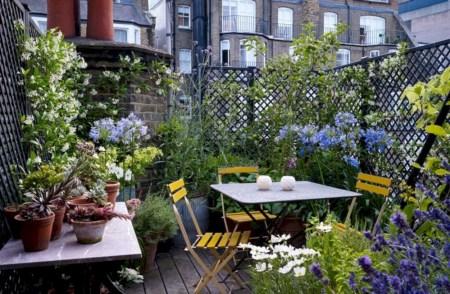 Beautiful courtyard garden design ideas 22