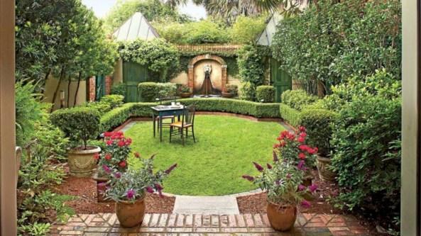 Beautiful courtyard garden design ideas 26