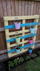 Best diy projects with pallet for your garden 03