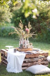Best diy projects with pallet for your garden 04