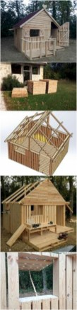 Best diy projects with pallet for your garden 09