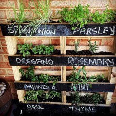 Best diy projects with pallet for your garden 20