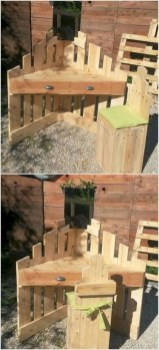 Best diy projects with pallet for your garden 32