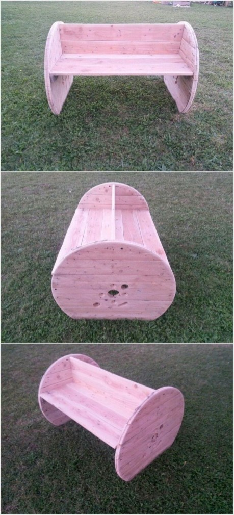 Best diy projects with pallet for your garden 36
