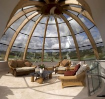 Best glass ceiling design ideas to enjoy the night sky 07